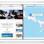Splitscreen på iPad