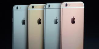 Farver på iPhone 6S