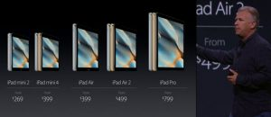 iPad Mini 4 offentliggøres til Apple event