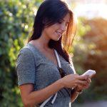 Danskerne SMS'er fortsat (Foto: Telia)