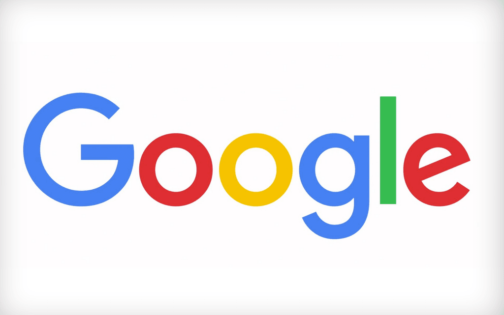 Googles nye logo fra 1. september 2015