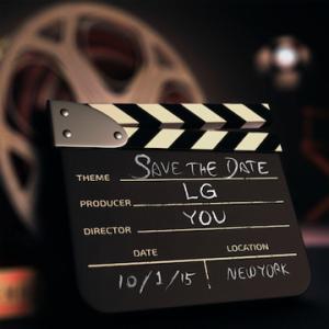 LG invitation til event den 1. oktober