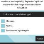 Screenshots fra kampagnen Cool Uden Røg