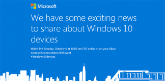 Windows 10 event - 6. oktober 2015