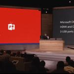 Lumia 950 XL fungerer som PC'er når den tilsluttes en ekstern skærm