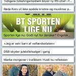 Nyheder vist i News applikationen