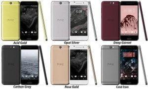 HTC One A9 (Kilde: @Evleaks)