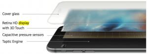 Glasopbygning på Phone 6S (Foto: Apple)