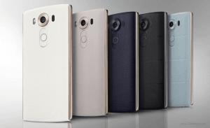 Farverne LG V10 kommer i