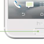 HTC One A9 har fingeraftrykslæser i hjemknappen (Foto: HTC)