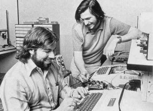 Steve Jobs og Steve Wozniak (Kilde: Applelife.it)
