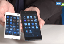 Sony Xperia Z5 og Xperia Z5 Compact (Foto: MereMobil.dk)