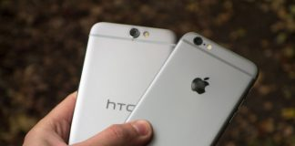 HTC One A9 og Apple iPhone 6S (Foto: Androidcentral)
