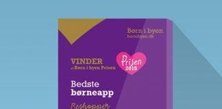 ReShopper applikationen vinder Danmarks Bedste Børneapp pris