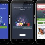 Nyt design på Google Play Store (Kilde: Kirill Grouchnikov)