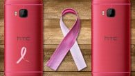 Kort nyt:HTC har netop lanceret en pink variant af deres One M9 smartphone for at støtte kampen mod brystkræft.
