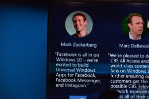 Mark Zuckerberg klar til at udvikle Windows 10 apps