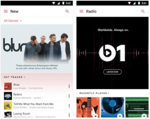 Apple Music på Android