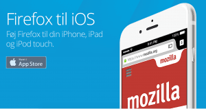 Screenshots fra Firefox til iOS (Foto: Mozilla)