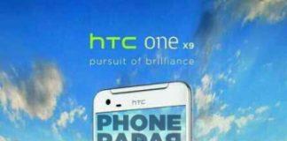 Lækket pressefoto af forventet HTC One X9
