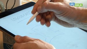 iPad Pro test af Apple Pencil
