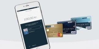 Brug flere betalingskort i MobilePay (Foto: Danske Bank)