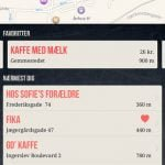 Screenshots fra Happs! applikationen