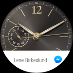 Sceenshot fra Huawei Watch med Android Wear (Foto: MereMobil.dk)