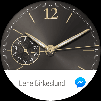 80fe233ed0b Sceenshot fra Huawei Watch med Android Wear (Foto: MereMobil.dk)