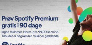 Tilbud på Spotify Premium via Google Chromecast
