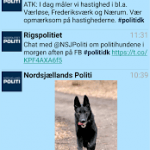 "Screenshots ""Politi-applikationen"""