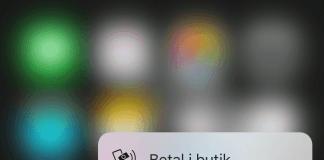 3D Touch på MobilePay applikationen (Foto: MereMobil.dk)