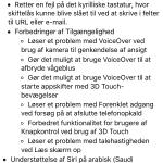 Ændringer iOS 9.2