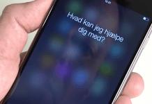 Siri på iPhone (Foto: MereMobil.dk)