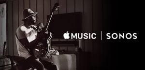 Apple Music kommer nu ind på Sonos (Foto: Sonos)