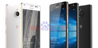 Lækket billede af Lumia 850