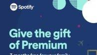 Er du Spotify-bruger, så kandu i december give dine venner eller familiemulighed for, at få tre måneders gratis prøveabonnement til Spotify.