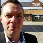 Selfie af John G. på vej ind til interview på TV 2 (Foto: John G. / MereMobil.dk)