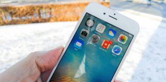 iPhone 6S i sne og frost (Foto: MereMobil.dk)