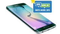 Årets Mobil 2015 blev Samsung Galaxy S6 Edge, som tydeligt slog iPhone 6S. Samsung og Apple blev presset lidt af Nexus 6P.