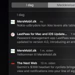 Beskederne kan ses i Meddelelsescenter på Mac (Foto: MereMobil.dk)
