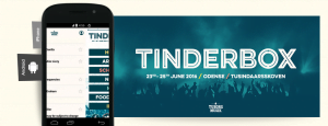 Tinderbox 2016 applikation til iOS og Android