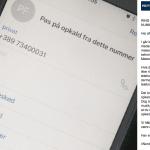 Advarsel fra Nordsjællands Politi på Facebook