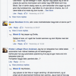 Et lille udsnit af kundernes kommentarer på Facebook