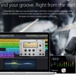 Fotos fra Apples hjemmeside i kampagnen omkring deres musikprogram Logic Pro X
