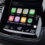 Diverse applikationer i den nye VolvoXC90 T8 (Foto: Volvo Cars)