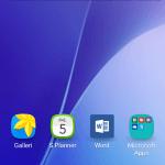 Screenshot fra Samsung Galaxy A5 (2016) (MereMobil.dk)