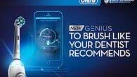 """MWC: Internet of Things har også budt på præsentationen af en ny """"smart""""-tandbørste fra Oral-B, hvor du kan holde øje med tandbørstningen på en app."""