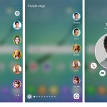 Screenshots af de nye funktioner på Galaxy S6 Edge (Foto: Samsung)