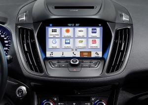 Ford Kuga med Ford Sync 3 (Foto: Ford)